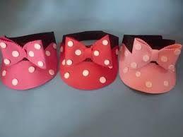 Resultado de imagen para viseras gorras de minnie y mickey en goma eva