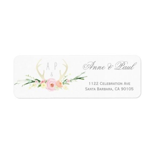 137 best Rustic Wedding Return Address Label images on Pinterest - address label