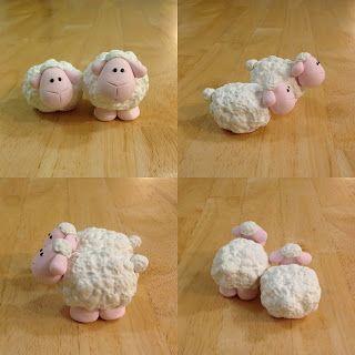 Expressive Creativity: Nativity - White Sheep