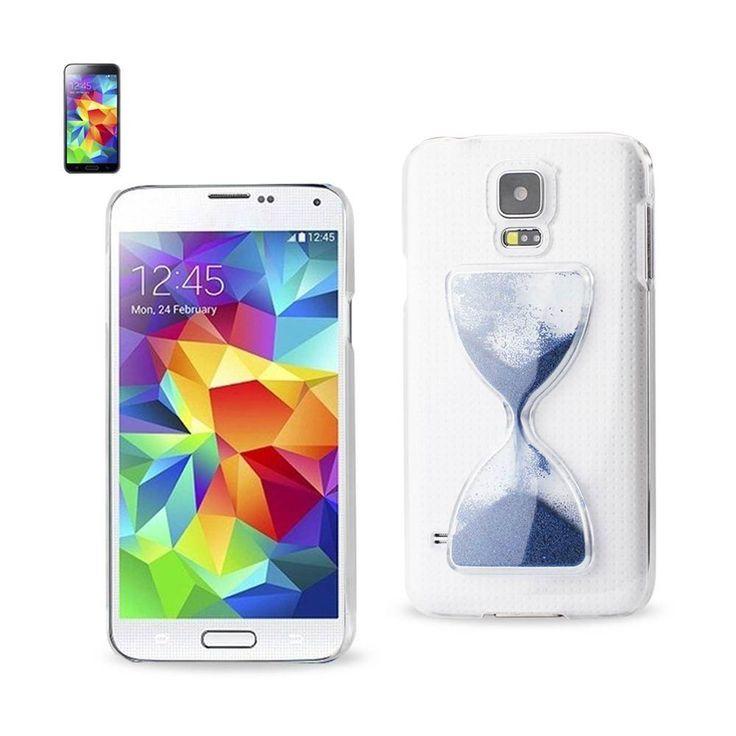 Reiko Design Clear Protector Cover Samsung Galaxy S5 Navy Sandglas