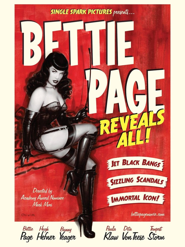 Bettie Page Reveals All! Poster