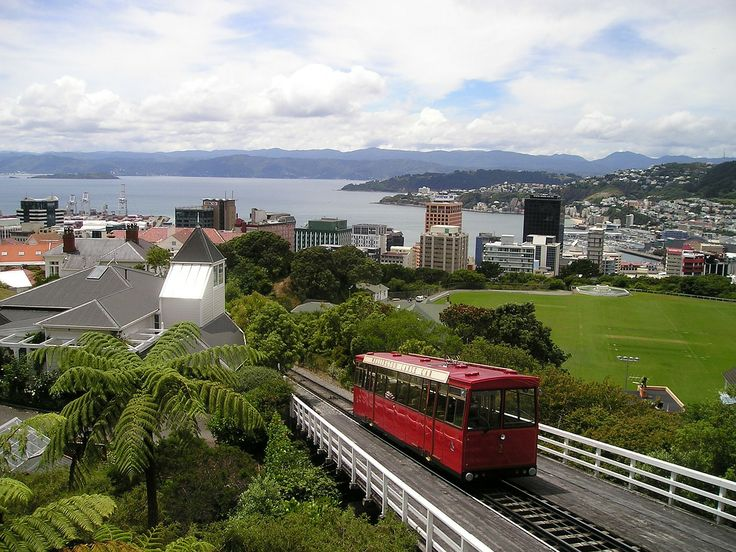 The iconic tram in Wellington, New Zealand. Visit www.aatraveller.co.nz for accommodation and travel deals, competitions, travel stories and more!
