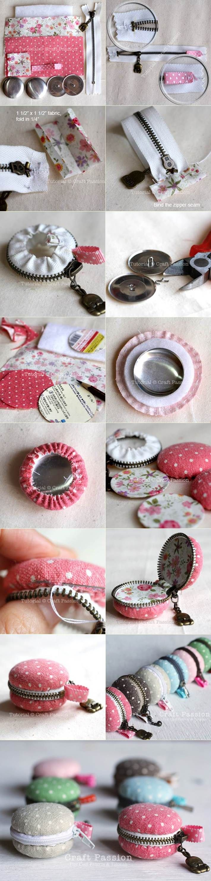 Macaroon Purse, just the right size for a few coins- can use Soft & Bright or Soft Soft High Loft Carol extra tip... You could use any size jar lid aswell