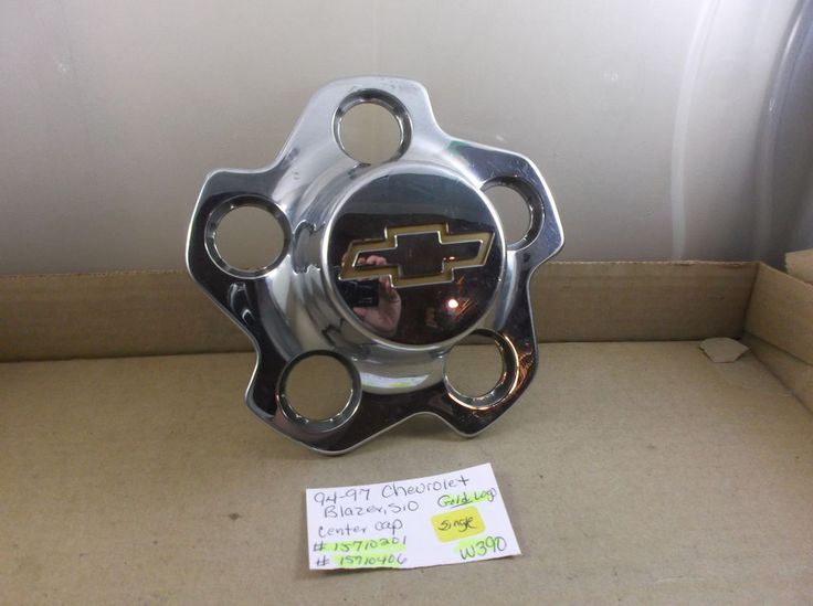 Chevrolet Blazer,S10 Truck 94-97 wheel center cap 15710201 15710406 hubcap w390 #CHEVROLET
