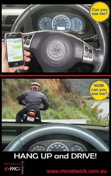 Good Advice - Concentrate on driving!