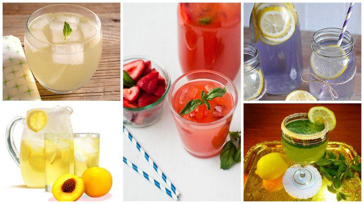 Retete de limonada. Clasice si inedite, pe care sa le incerci vara aceasta