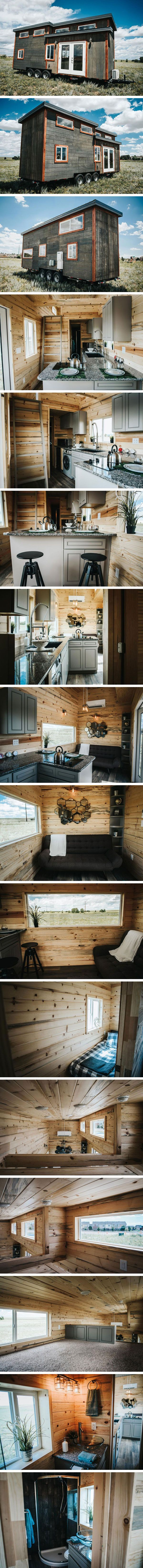 Дом на колесах Four Eagle от The Tiny Home Co. #tinyhomesdigest #tinyhouse #houseonwheels #camper