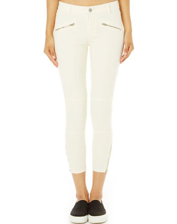 Ankle Zip Skinny Jean