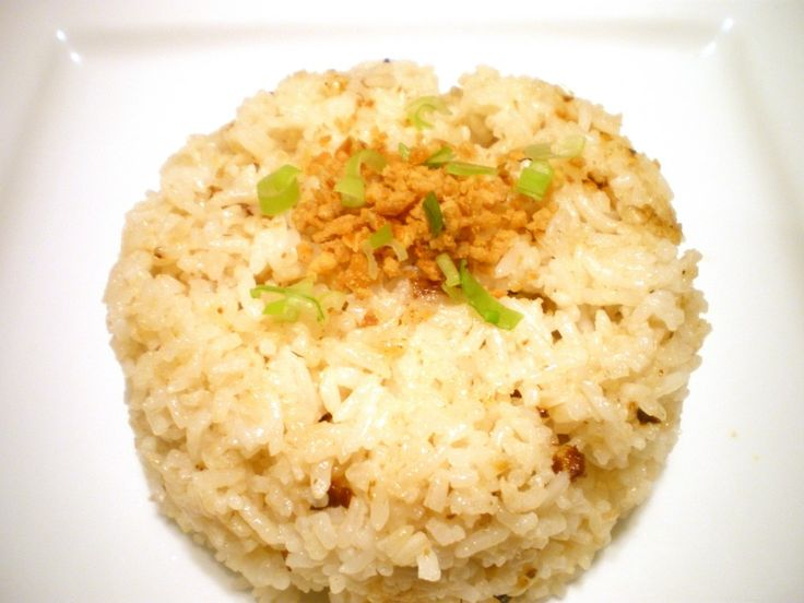 Filipino garlic fried rice. Just like mom makes. Easy peasy.