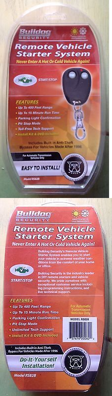 Remote Start and Entry Systems: Bulldog Security Rs82 Button Remote Start Starter - Up To 133 Yards Or 400 Feet -> BUY IT NOW ONLY: $55.75 on eBay!
