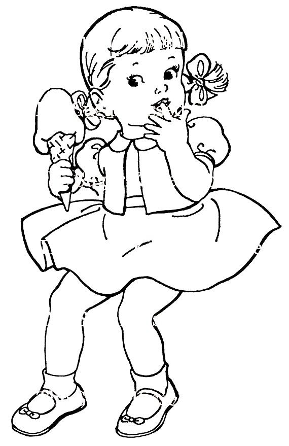 951 best clipart girls images on Pinterest | Adult coloring ...