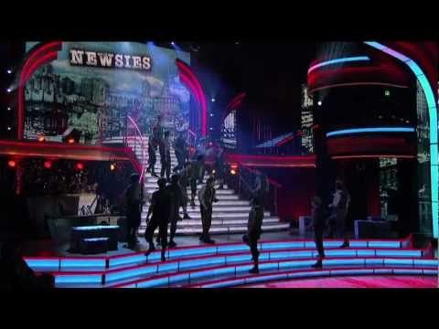 """Broadway's NEWSIES on  ABC's """"Dancing with the Stars: All-Stars"""" ALL I WANT IS TO SEE THESE WITH MY FAVORITES"""