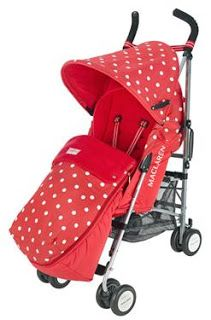 Will look great on a summers day but has a handy foot muff in the same stunning design for those cold winter mornings <3