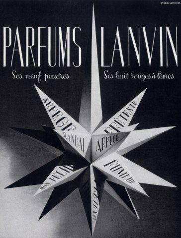 * Lanvin parfums 1941