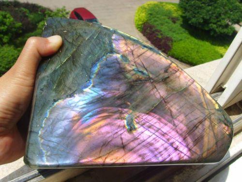 3215g-Natural-Labradorite-Crystal-Rough-Polished-Madagascar-L1760