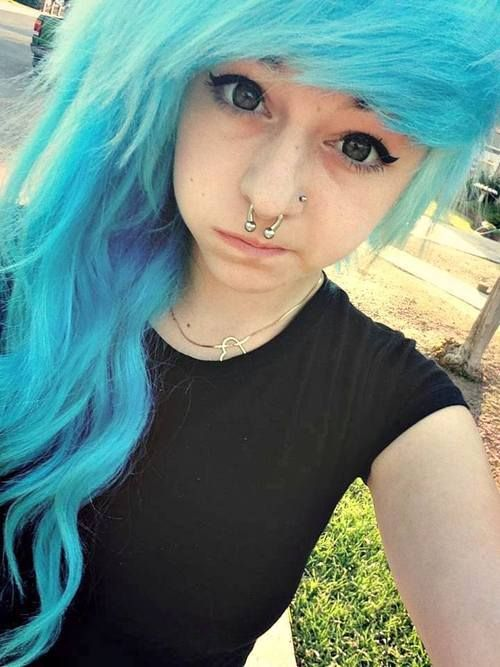 I want my hair like this, my parents might let me get the style not the color tho