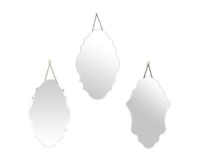 3 Miroirs BAO - argenté