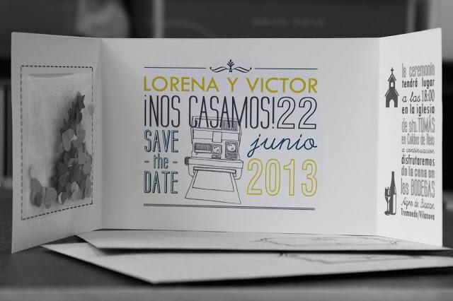 """Hermanas Bolena: NOVEDAD: Invitaciones DIY para bodas """"handmade""""..."""