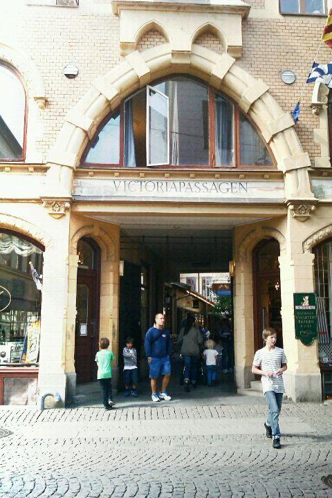 Victoriapassagen, koselig liten gate som også har en Da Matteo.