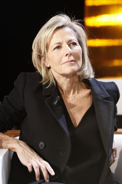 Claire Chazal                                                                                                                                                      Fashion role model for 40+ 50+ 60+ midlife chic/ style/ fashion Great hair French