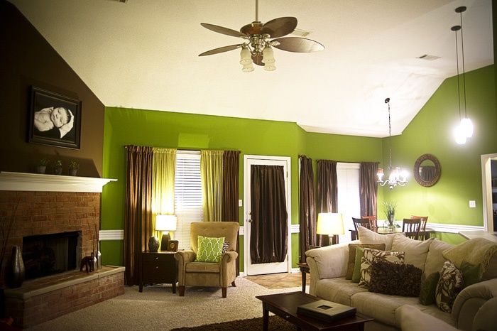 21 best Green & Brown Living Room images on Pinterest ...