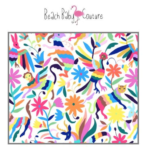 Mexican Otomi Baby Bedding Baby Crib Or By