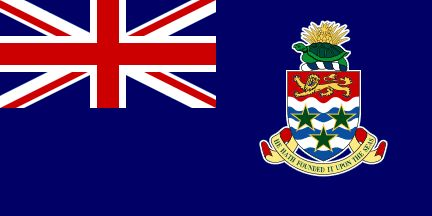 1734 to 2013 Chief Officers of the Cayman Islands: successively called Chief Magistrate or Custos, Commissioner, Administrator, Governor. [Cayman Islands flag]