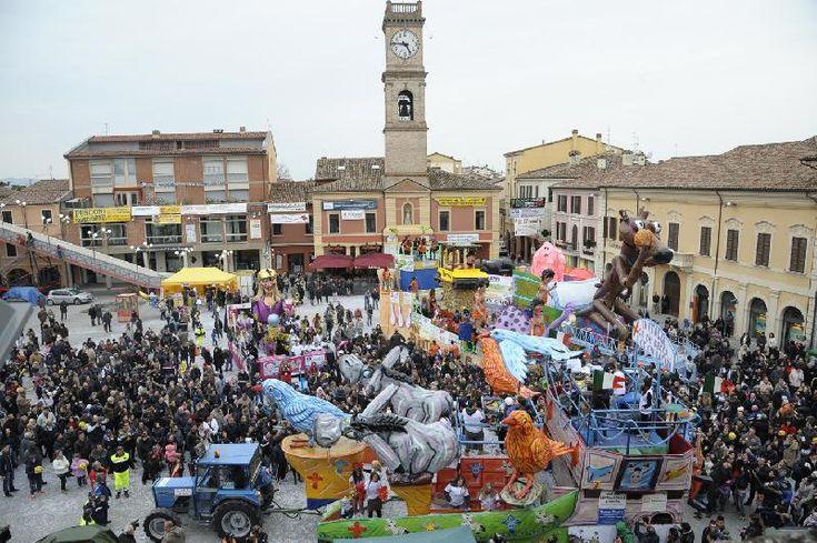 Forlimpopoli. La Segavecchia. Feste e sagre d'Italia. Il carnevale di Forlimpopoli di metà Quaresima.