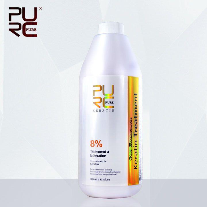 1000 ml 8% formaldéhyde produits de traitement des cheveux de kératine brésilienne pour le chocolat cheveux traitements fournir votre étiquette