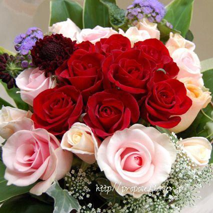 幸せな花束の記録♪  #プロポーズフラワー #propose#プロポーズ花束#赤い薔薇 #花屋 #フラワーショップ#プロポーズ#クリスマス花束 #flower #flowers #flowerlovers#flowershop#flowerdesign