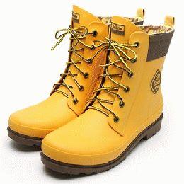 Subtle Mr.Rain X1 Boots / Yellow