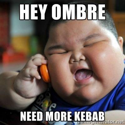 fat joe memes   hey ombre need more kebab - fat chinese kid   Meme Generator