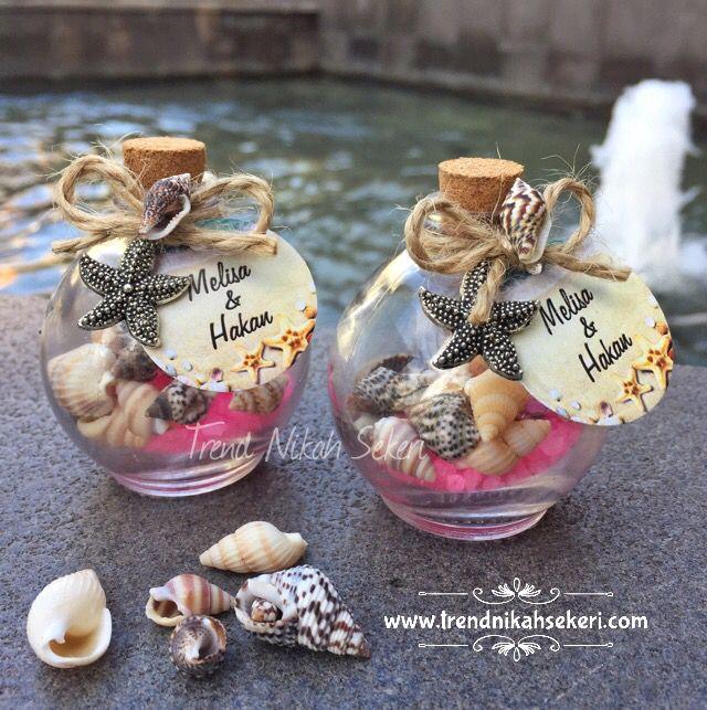 Deniz konseptli hediyelik şişe