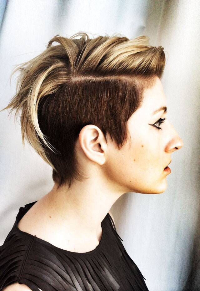Undercut Color and Cut by TIGI's Joel Torres and Kelly Butz - Hairstyling & Updos