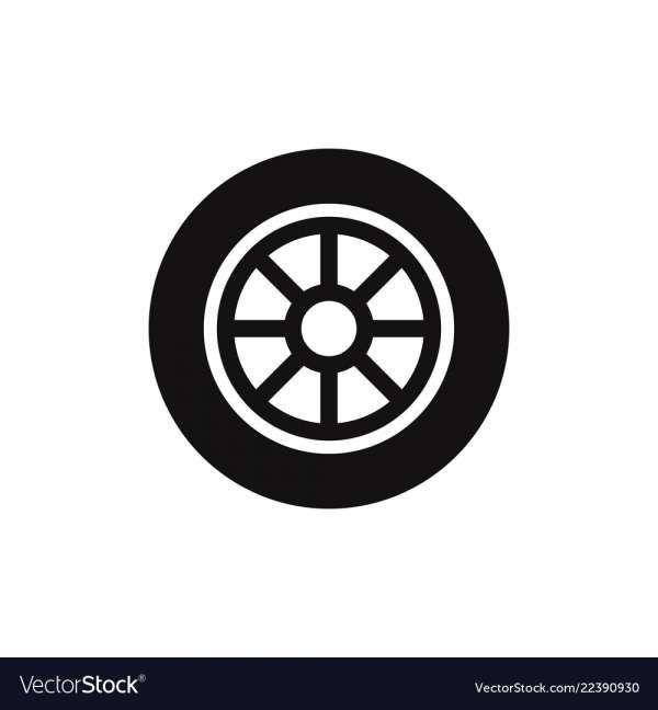 15 Car Wheel Icon Car Wheel Alignment Tire Icon Car Wheel