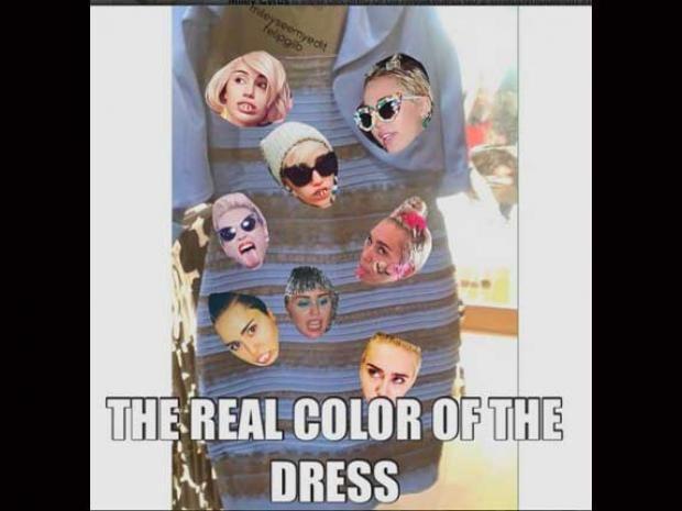 El rostro de famosos también aparecen en los memes...por ejemplo el de Miley Cyrus