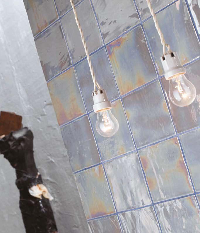 Bodenstehende Fliesen / Aus Keramik / Poliert / Metallefekt VOGUE : LUCE  Arezia