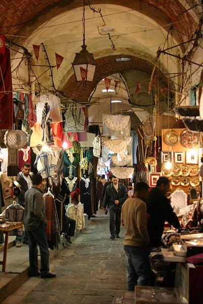 Souks in Tunis Tunisia... underground shopping