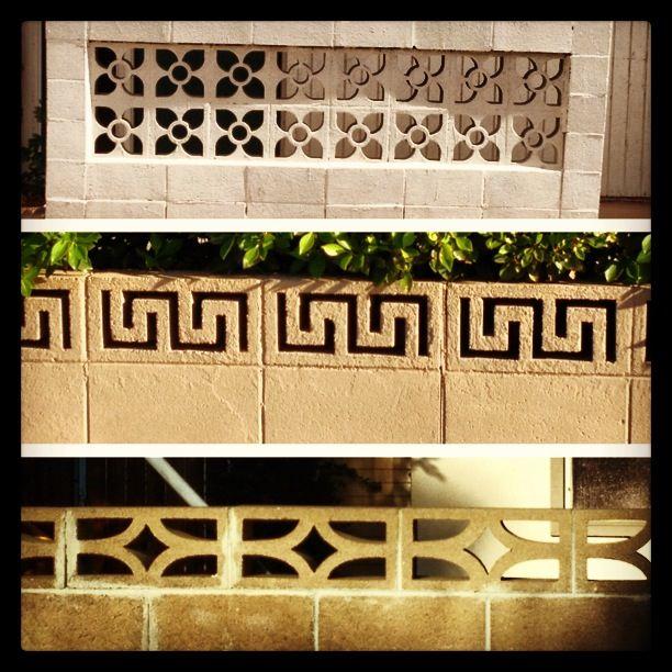 168 best block partition images on pinterest - Decorating concrete walls ...