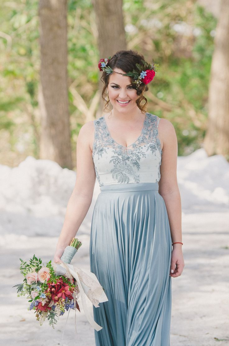 Beautiful Bridesmaids Dresses For Autumn | Photography Rachel Pearlman Photography:
