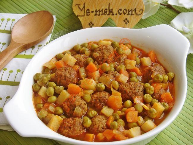 Sebzeli Sulu Köfte Yemekleri Resmi