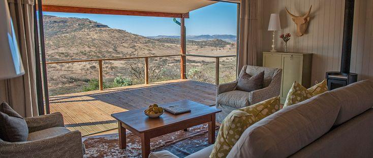 Mfazimnyama Valley Lodge | Fair Trade in Tourism | Three Tree Hill at Spioenkop