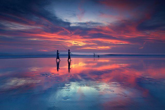 Seminyak Beach by Helminadia Ranford.