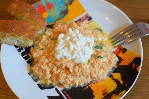 strapatsada, greek scrambled eggs