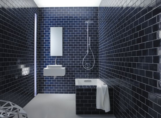 dark blue bathroom tiles navy subway tiles homey ux ui 18040