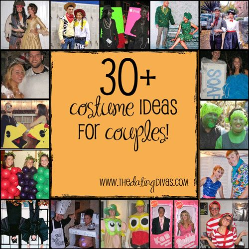 LOTS of costume ideas for couples!!