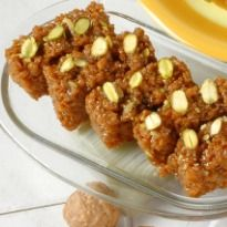 Habshi Halwa Recipe - Habshi is an Urdu word that denotes the dark appearance of this Indian dessert. It is a sticky sweet, mostly consumed during the winter months, made with wheat extract.