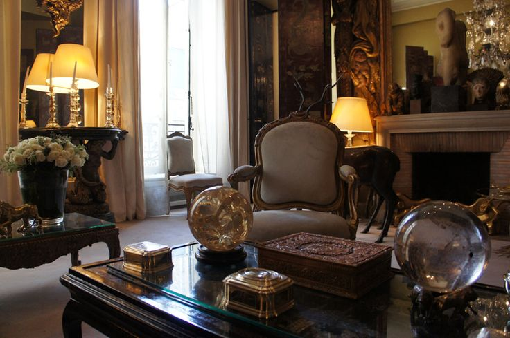 Coco Chanel's Living Room Tour
