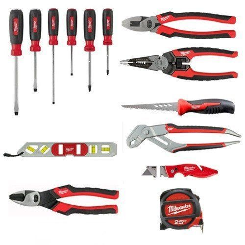 Saws 122853: New Milwaukee Tool 48-22-0100 15 Piece Electricians Starter Hand Tool Set -> BUY IT NOW ONLY: $239.95 on eBay!