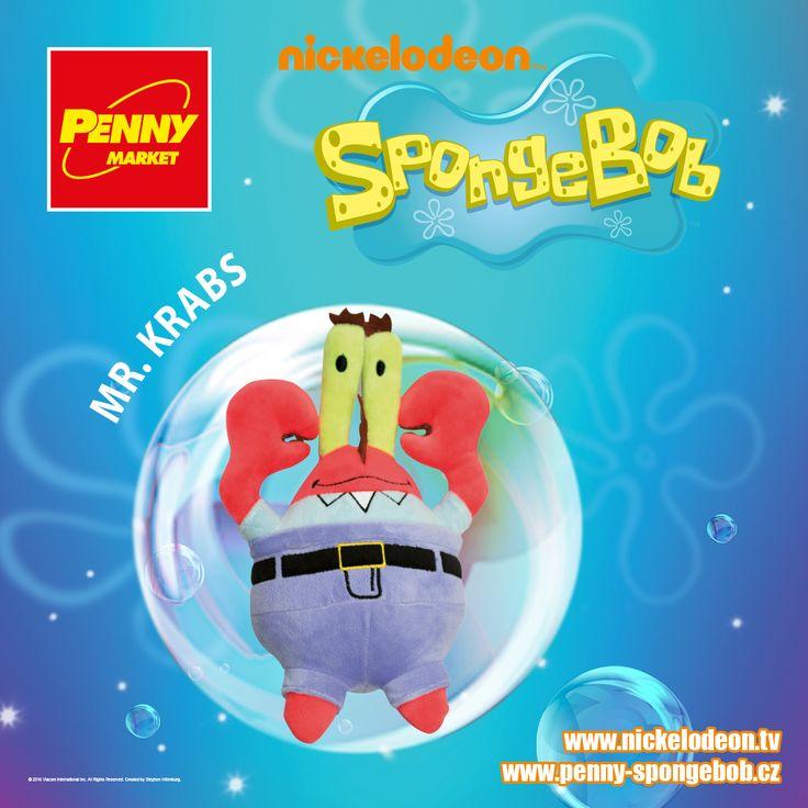 Mr. Krabs slaví se svou restaurací Křupavý krab úspěch. Musí čelit pokusům nepřítele Planktona o ukradení jeho oblíbených receptů, což se Planktonovi naštěstí nepovede.   Sbírejte známky za nákupy v Penny a získejte plyšového pana Krabse! Za každých 200 Kč nákupu dostanete 1 známku. Více informací o známkách a cenách SpongeBoba a jeho kamarádů najdete na www.penny-spongebob.cz.